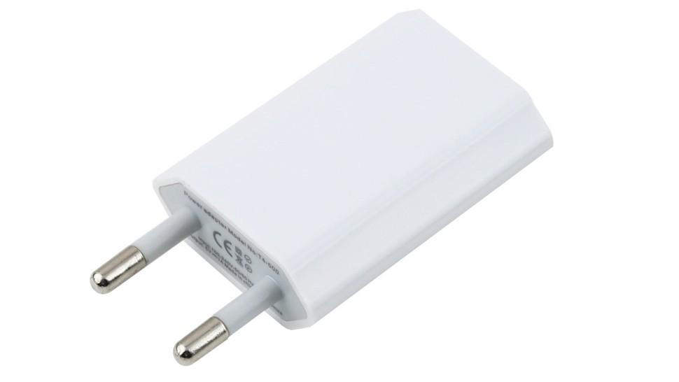 Kroviklis, USB: 220V, 1A, SLIM (maišelyje)