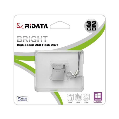 Atmintinė Ridata USB 2.0 32GB metalinė
