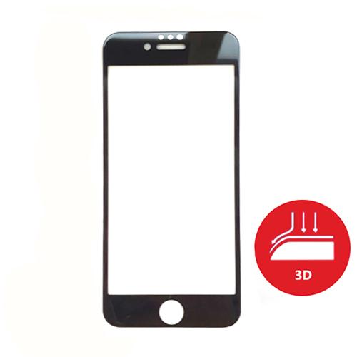 Apsauginis grūdintas stiklas APPLE iPhone 6/ 7/ 8 (3D, juodas)