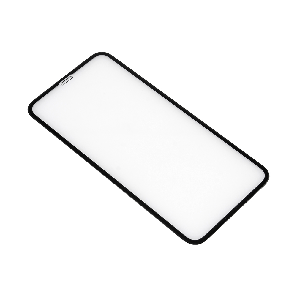 Apsauginis stiklas iPhone XS (3D, juodas)