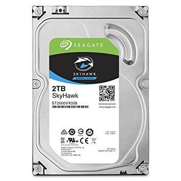 """2TB SEAGATE SURVEILLANCE SKYHAWK 3.5"""", HDD SATA 2TB 5900RPM SATA 6G"""