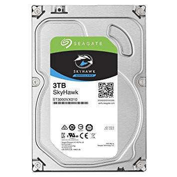 """3TB SEAGATE SURVEILLANCE SKYHAWK 3.5"""", HDD SATA 3TB 5900RPM SATA 6G"""