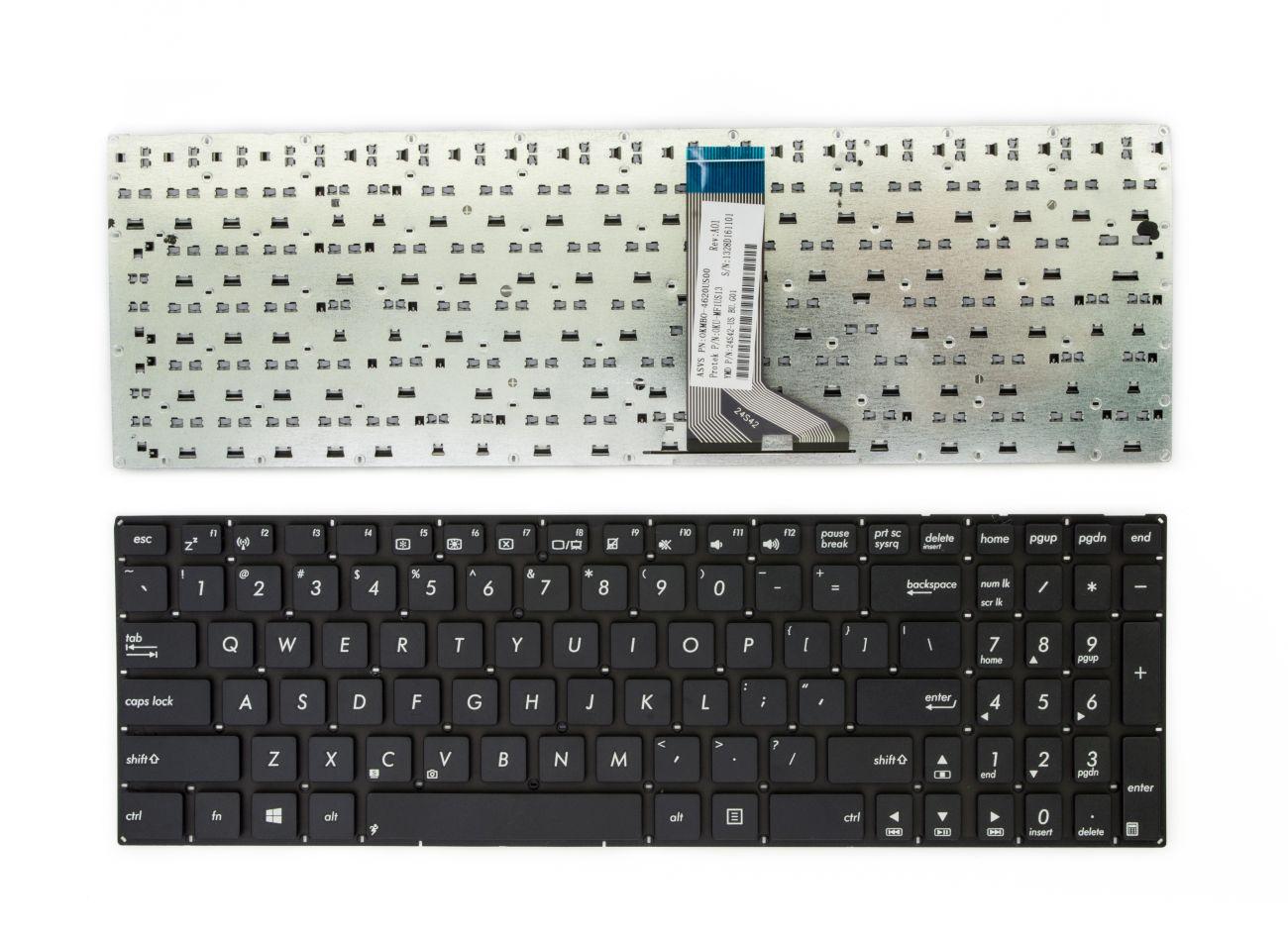 Klaviatūra ASUS: F551, X551, X551MAV, X551CA