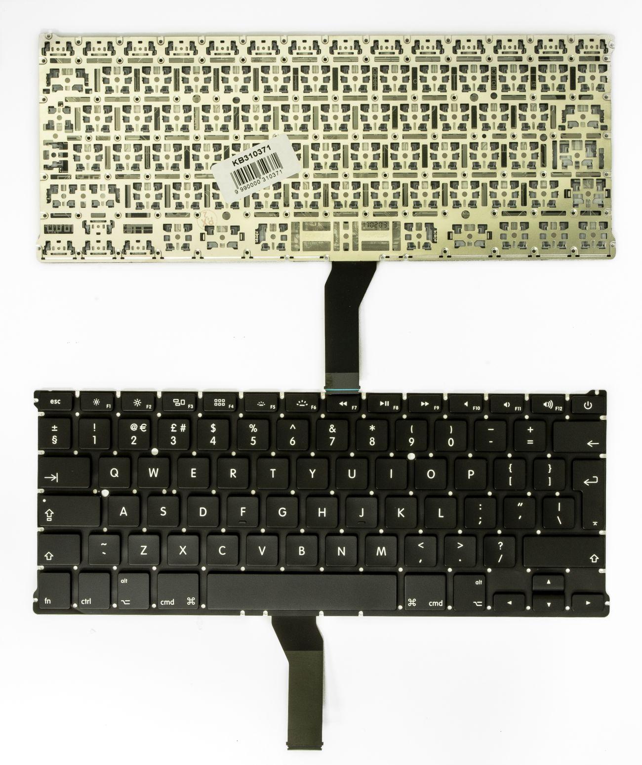 """Klaviatūra APPLE: MacBook Air 13"""" A1466, UK"""