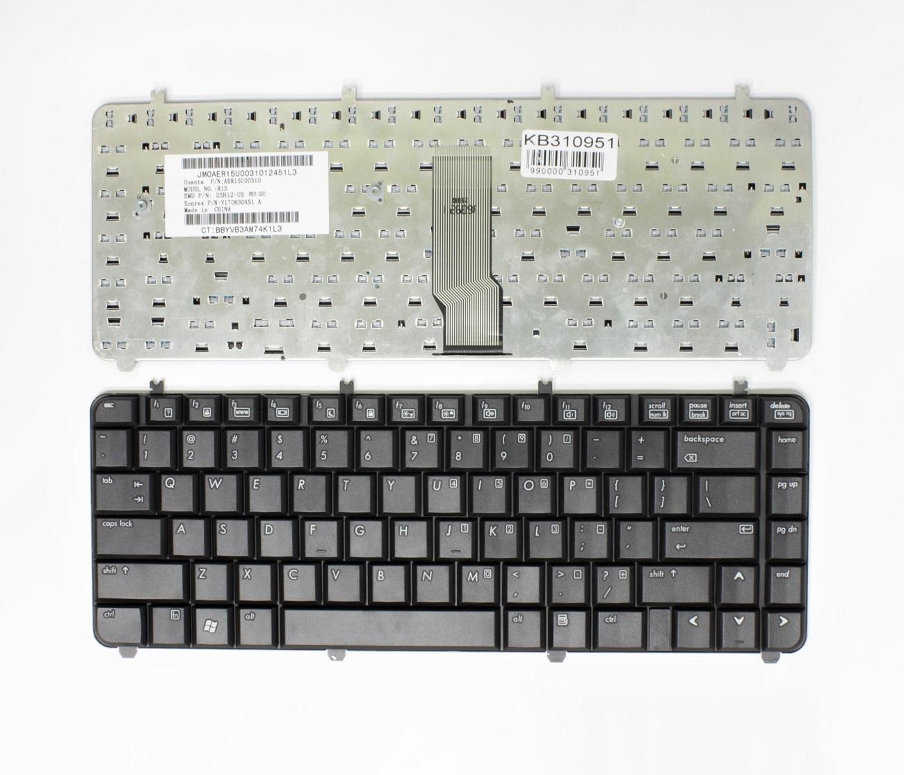 Klaviatūra HP Paviliion: DV5, DV5T, DV5Z , DV5-1000, DV5-1100, DV5-1200, DV5-1300