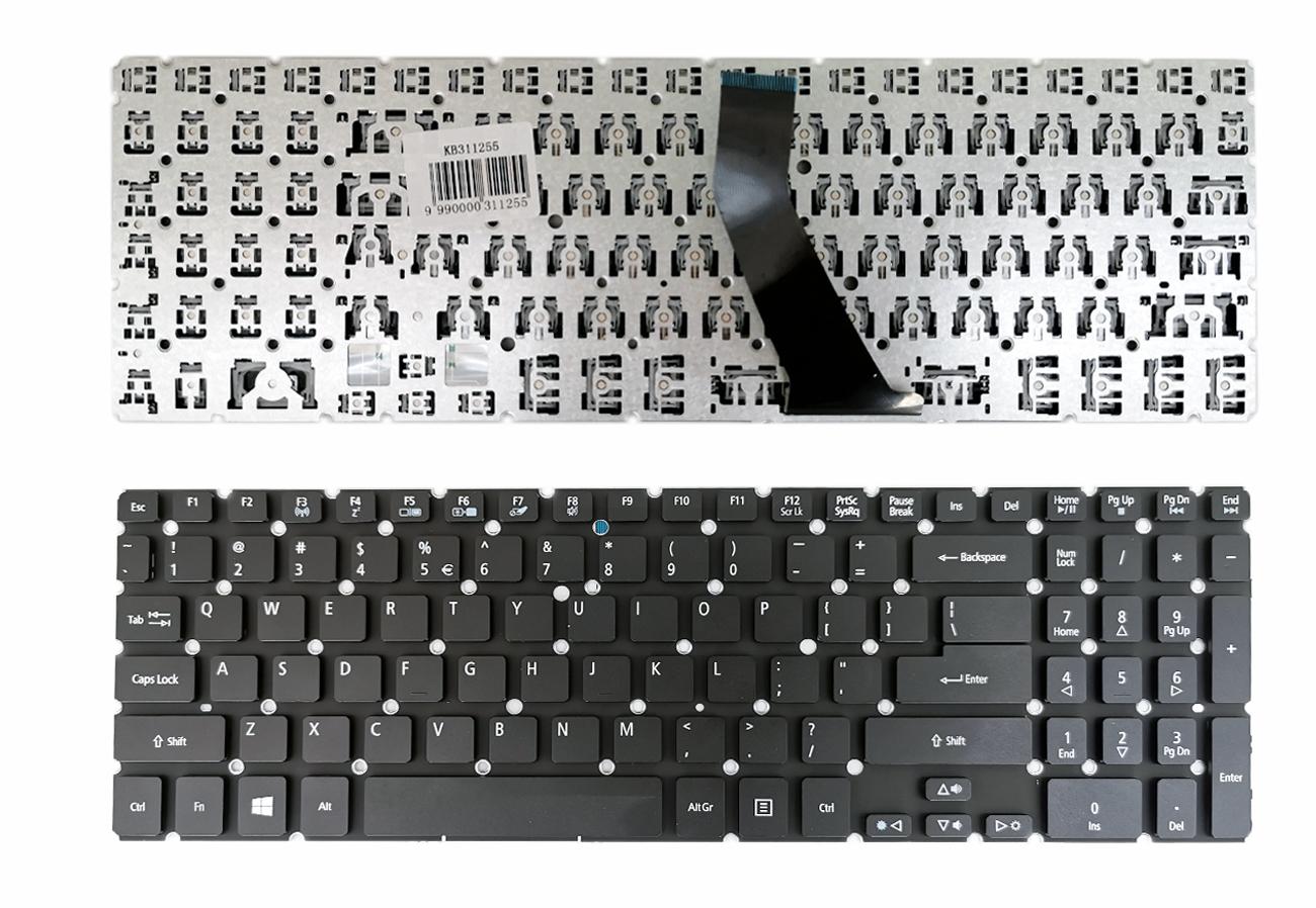 Klaviatūra ACER Aspire: M3-MA50, M5-581T, M5-581G, M5-581PT, M5-581TG, V5-531, V5-731