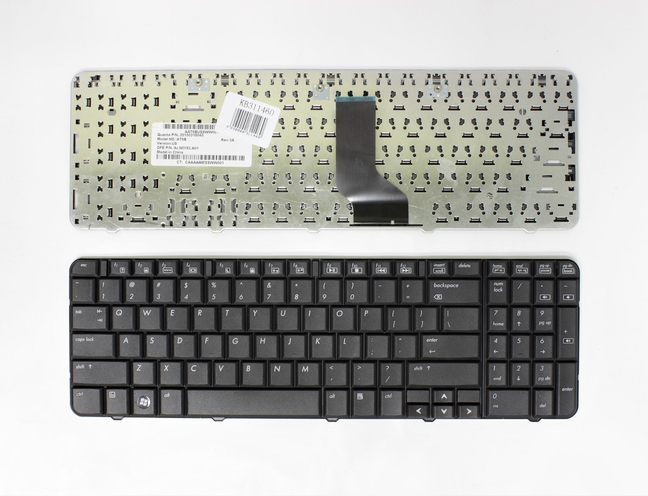 Klaviatūra HP Compaq Presario: CQ60, CQ60Z, G60, G60T