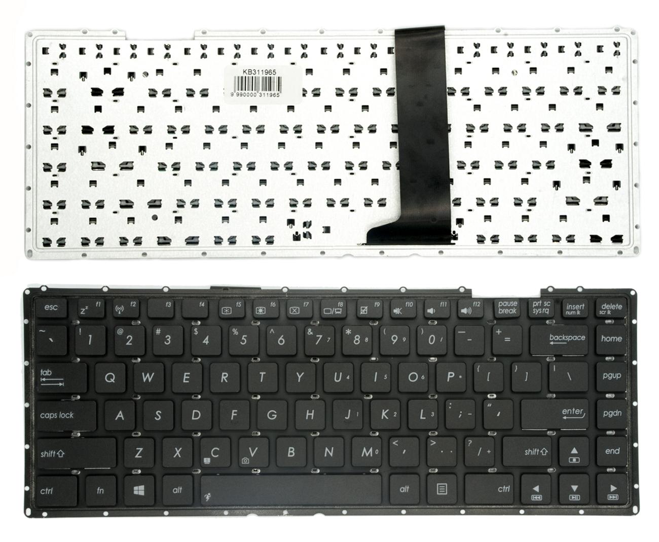 Klaviatūra ASUS: A450V, X450VB, X450C, X450L, Y481C, Y481L, X452E