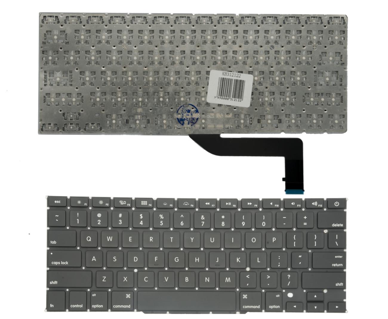 Klaviatūra APPLE MacBook Pro Retina 15