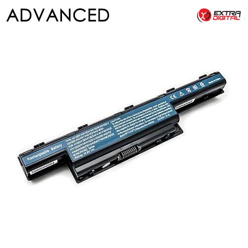 Nešiojamo kompiuterio baterija ACER AS10D31, 5200mAh, Extra Digital Advanced