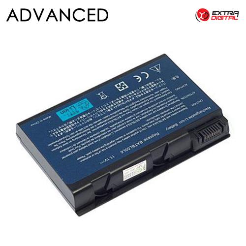 Nešiojamo kompiuterio baterija ACER BATBL50L6, 5200mAh, Extra Digital Advanced