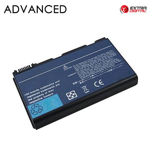 Nešiojamo kompiuterio baterija ACER TM00741, 5200mAh, Extra Digital Advanced