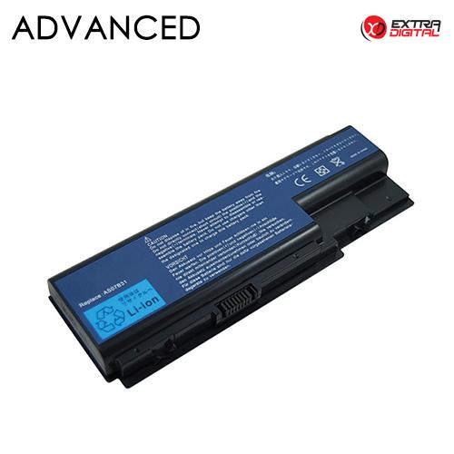 Nešiojamo kompiuterio baterija ACER AS07B31, 5200 mAh, Extra Digital Advanced