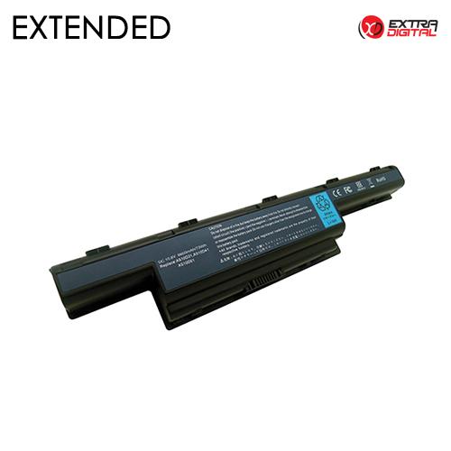 Nešiojamo kompiuterio baterija ACER AS10D31, 6600mAh, Extra Digital Extended