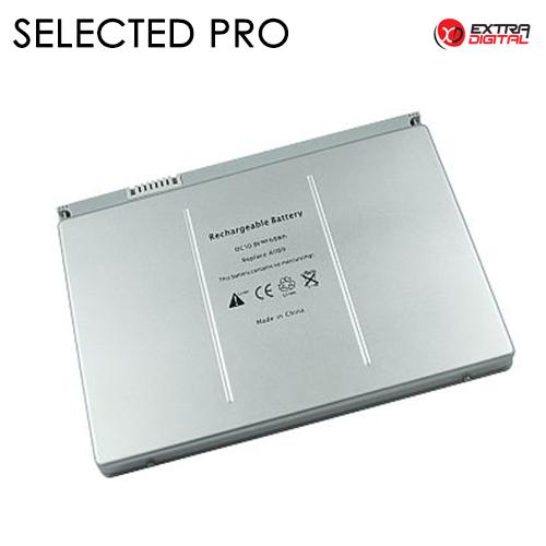 Nešiojamo kompiuterio baterija APPLE A1189, 6300mAh, Extra Digital Selected Pro