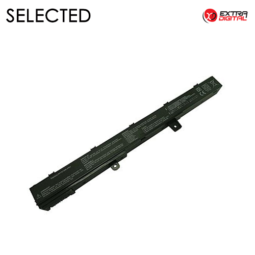 Nešiojamo kompiuterio baterija ASUS A41N1308, 2600mAh, Extra Digital Advanced