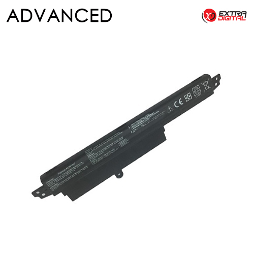 Nešiojamo kompiuterio baterija ASUS VivoBook X200CA , A31N1302, 2600mAh, Extra Digital Advanced