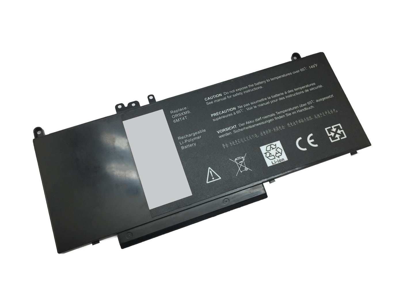 Nešiojamo kompiuterio baterija DELL 6MT4T, 3100mAh, Extra Digital Selected Pro