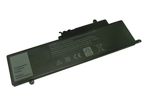 Nešiojamo kompiuterio baterija DELL GK5KY, 3860mAh, Extra Digital Selected Pro