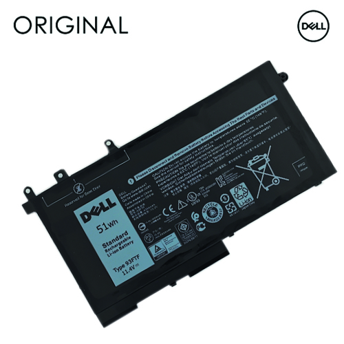 Nešiojamo kompiuterio baterija DELL D4CMT, 4254mAh, Originali