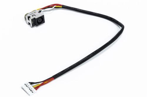 Maitinimo lizdas su kabeliu, HP DV6 Series