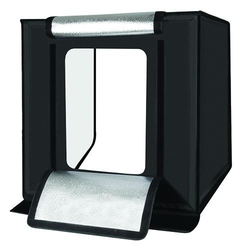 Fotografavimo dėžė su LED apšvietimu, 40x40x40cm