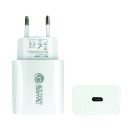 Kroviklis, USB Type-C: 220V, 18W, PD