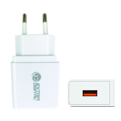 Kroviklis,  USB: 220V, 18W, QC3.0