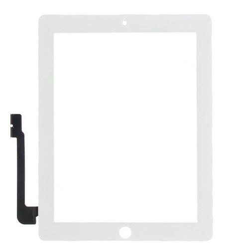 Lietimui jautrus planšetinio kompiuterio stikliukas iPad 3 baltas ORG