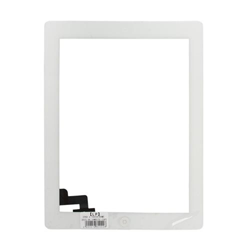Lietimui jautrus planšetinio kompiuterio stikliuko komplektas iPad 3 baltas ORG