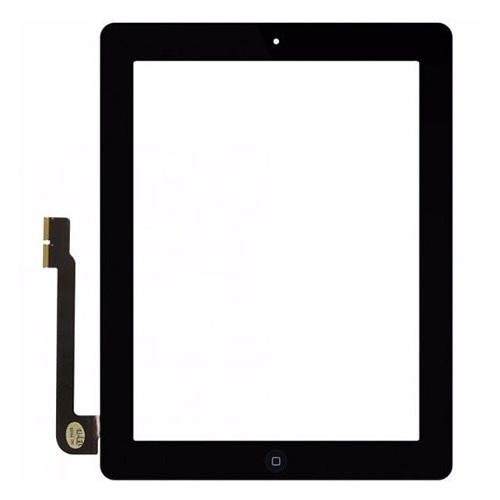 Lietimui jautrus planšetinio kompiuterio stikliuko komplektas iPad 3 juodas ORG
