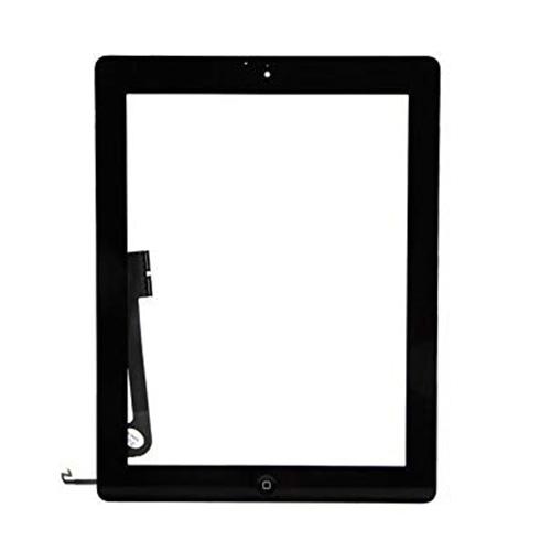 Lietimui jautrus planšetinio kompiuterio stikliuko komplektas iPad 4 juodas ORG