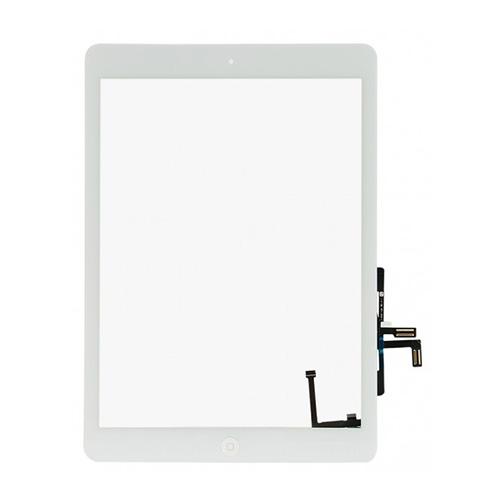 Lietimui jautrus planšetinio kompiuterio stikliuko komplektas iPad air baltas ORG