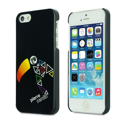 Telefono nugarėlė, juoda(iPhone 5/5s/SE)