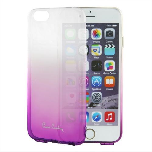Skaidri purpurinės spalvos nugarėlė, Pierre Cardin (iPhone 6/6s)