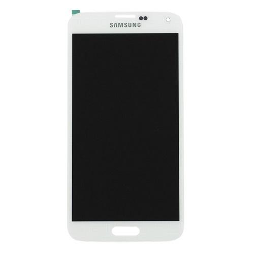 Ekranas Samsung Galaxy S5 (baltas) Restauruotas