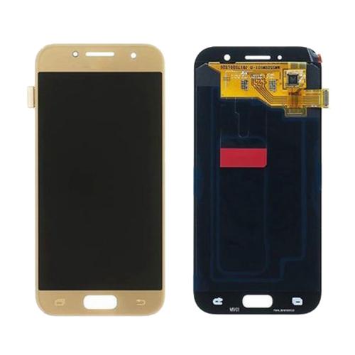 Ekranas Samsung Galaxy A3 (2017, auksinis) ORG