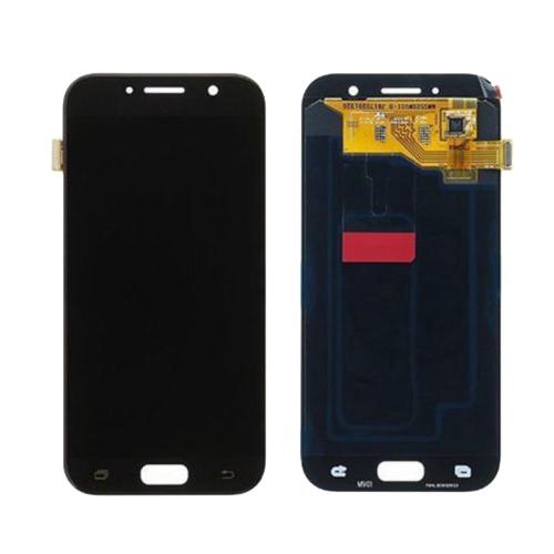 Ekranas Samsung Galaxy A3 (2017, juodas) ORG