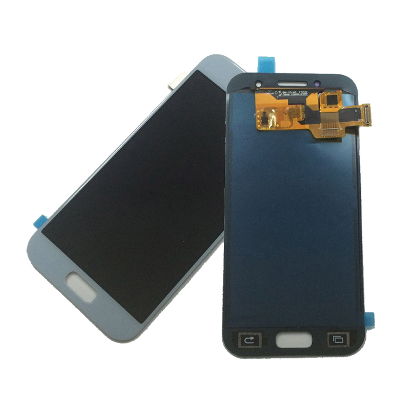 Ekranas Samsung Galaxy A3 (2017, pilkas) ORG