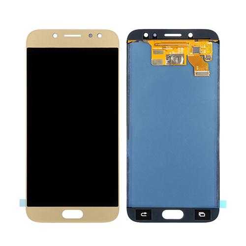 Ekranas Samsung Galaxy J7 (2017, auksinis) ORG
