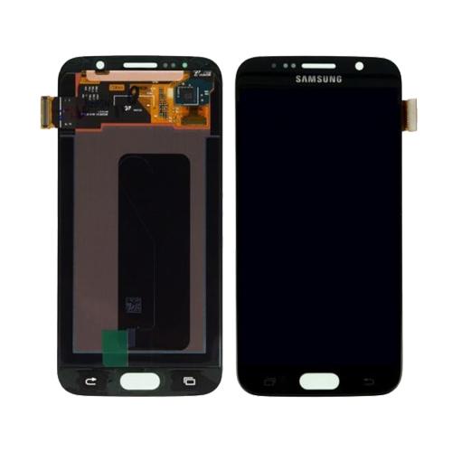 Ekranas Samsung Galaxy S6 (juodas) ORG