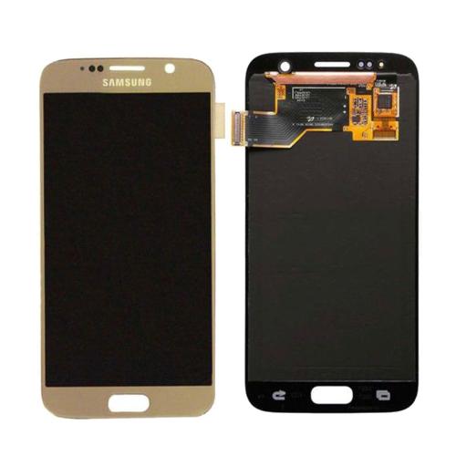 Ekranas Samsung Galaxy S7 (auksinis) ORG