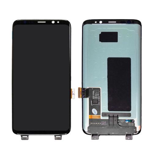 Ekranas Samsung Galaxy S8 (juodas) Restauruotas