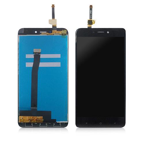 Ekranas Xiaomi Redmi 4X (juodas) ORG