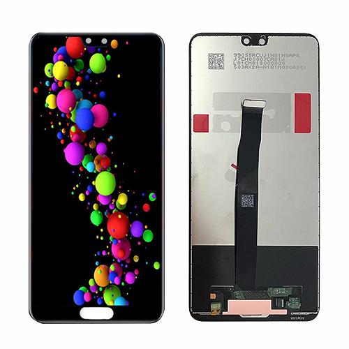 Ekranas LCD Huawei P20 (juodas) ORG