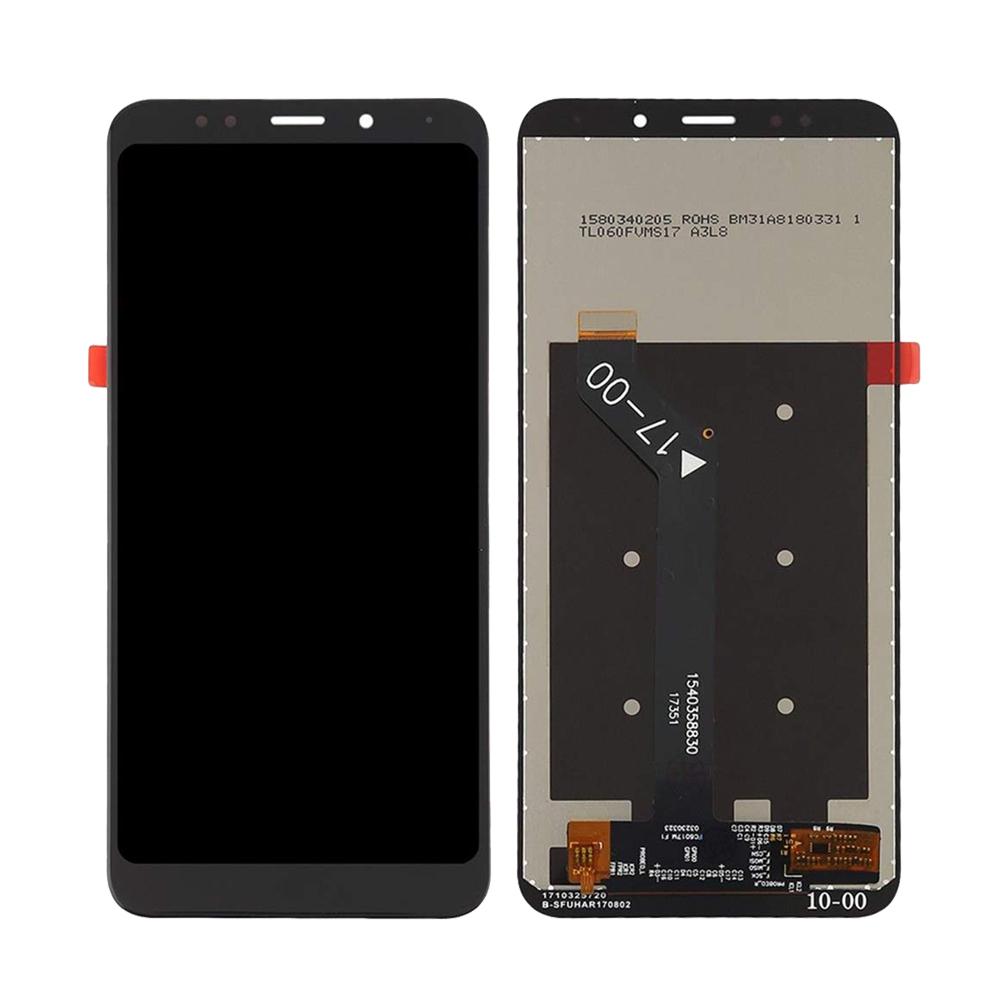 Ekranas LCD Xiaomi Redmi 5 Plus (juodas) Restauruotas