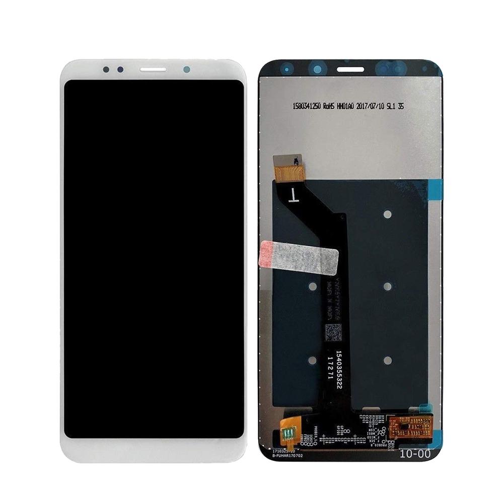 Ekranas LCD Xiaomi Redmi 5 Plus (baltas) ORG