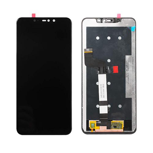 Ekranas LCD Xiaomi Redmi Note 6 Pro (juodas) ORG