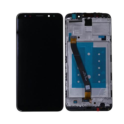 Ekranas LCD Huawei Mate 10 lite (juodas) restauruotas