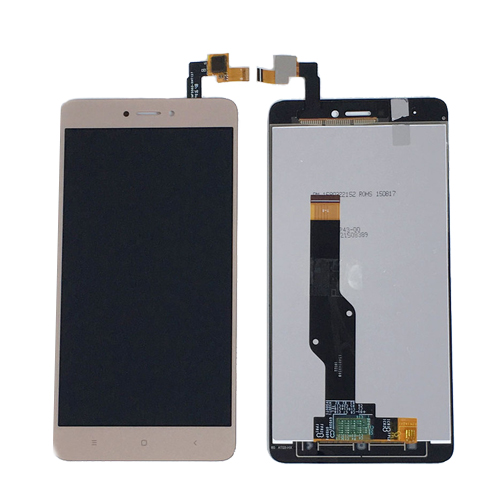 Ekrana sXiaomi Redmi note4X (auksinis) restauruotas